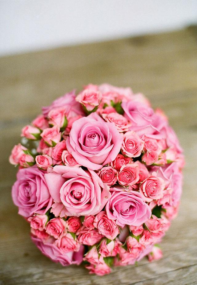 Pudrowe wesele - motyw różu (2)