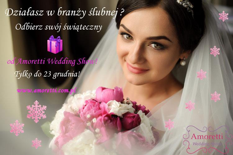 Świąteczna promoja Amoretti Wedding Show 1