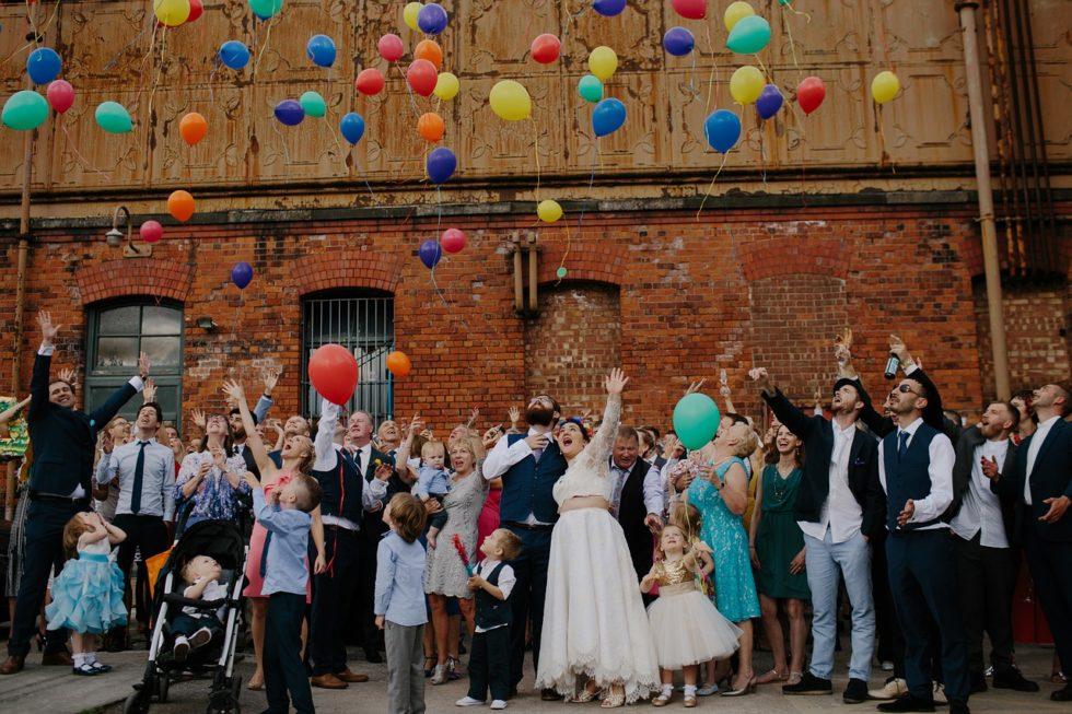 Atrakcje po uroczystości zaślubin