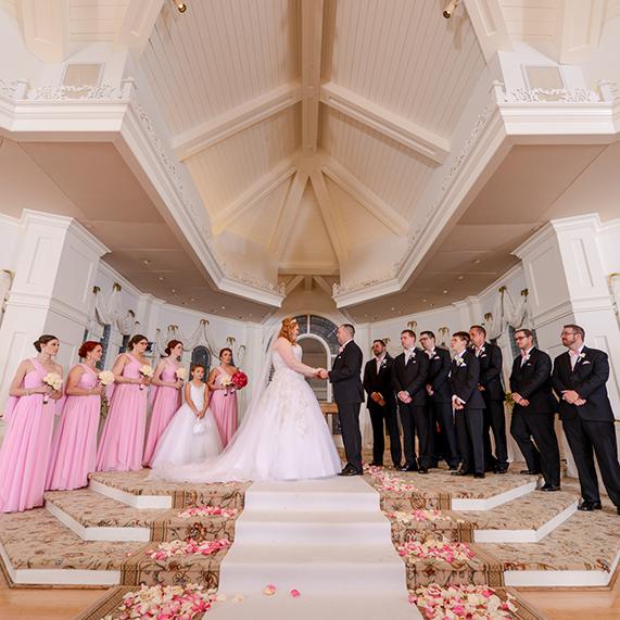 ślub w Disnaylandzie