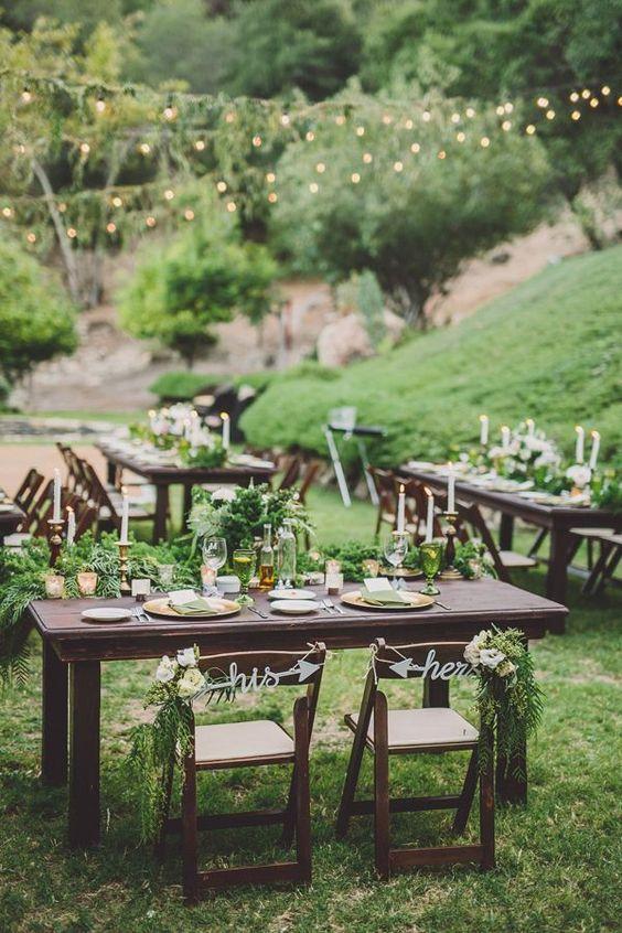 Przyjecie weselne na zielono (2)
