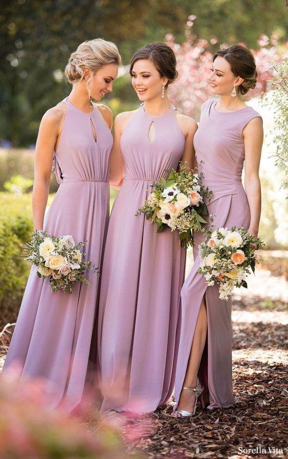 wyrazista suknia dla druhny