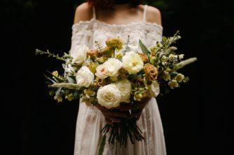 zieleń rządzi na przyjęciu weselnym