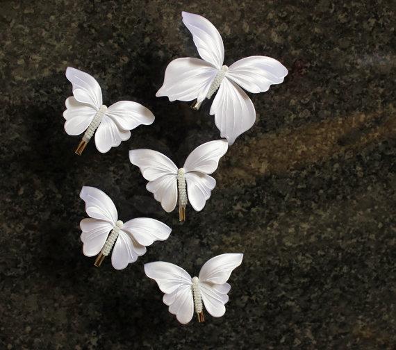 Spinki motylki