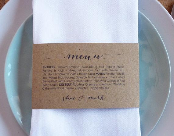 menu na ślub