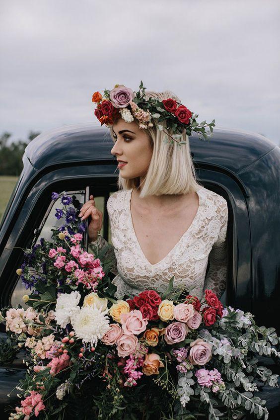 oryginalna stylizacja ślubna